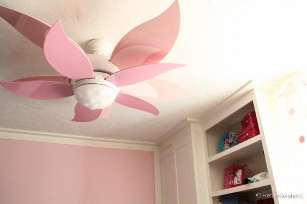 Craftmade Girls Room Ceiling Fan Flower Ceiling Fan Bloom