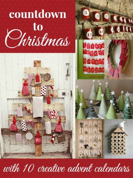Advent Calendar Ideas Wife : Remodelaholic it s the christmas countdown charming