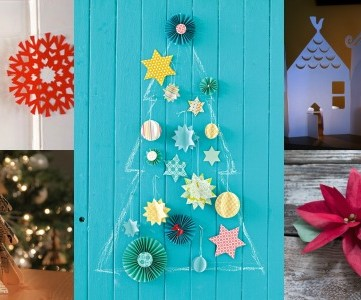 35 Paper Christmas Decorations To Make This Holiday Season