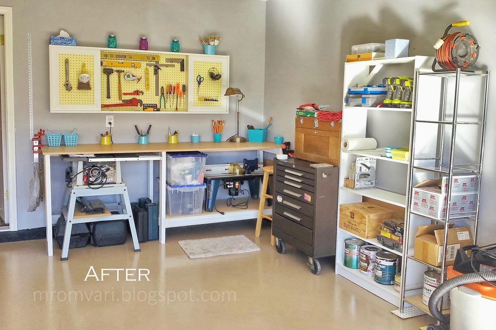 DIY Tutorial Workbench And Pegboard