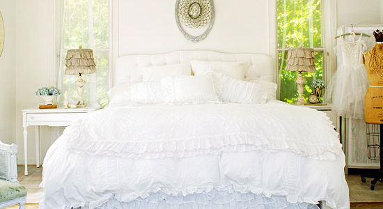 Get This Look - Dreamy White Bedroom