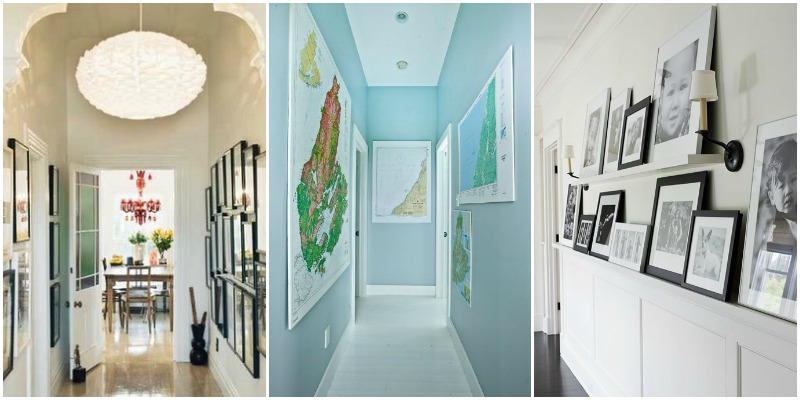 15 ways to decorate a hallway remodelaholic for Hallway decorating ideas