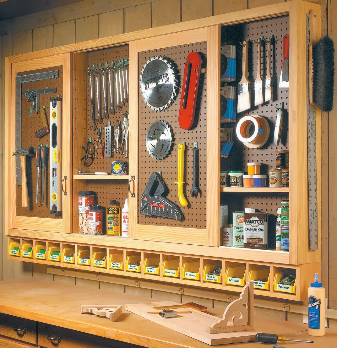 remodelaholic build an organized pegboard tool cabinet. Black Bedroom Furniture Sets. Home Design Ideas