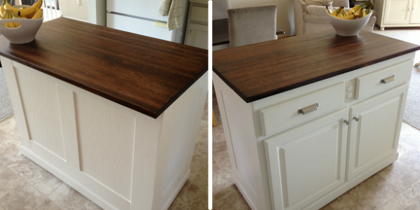 Remodelaholic | Budget-Friendly Board and Batten Kitchen Island Makeover