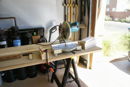 building workbench, featured on Remodelaholic.com
