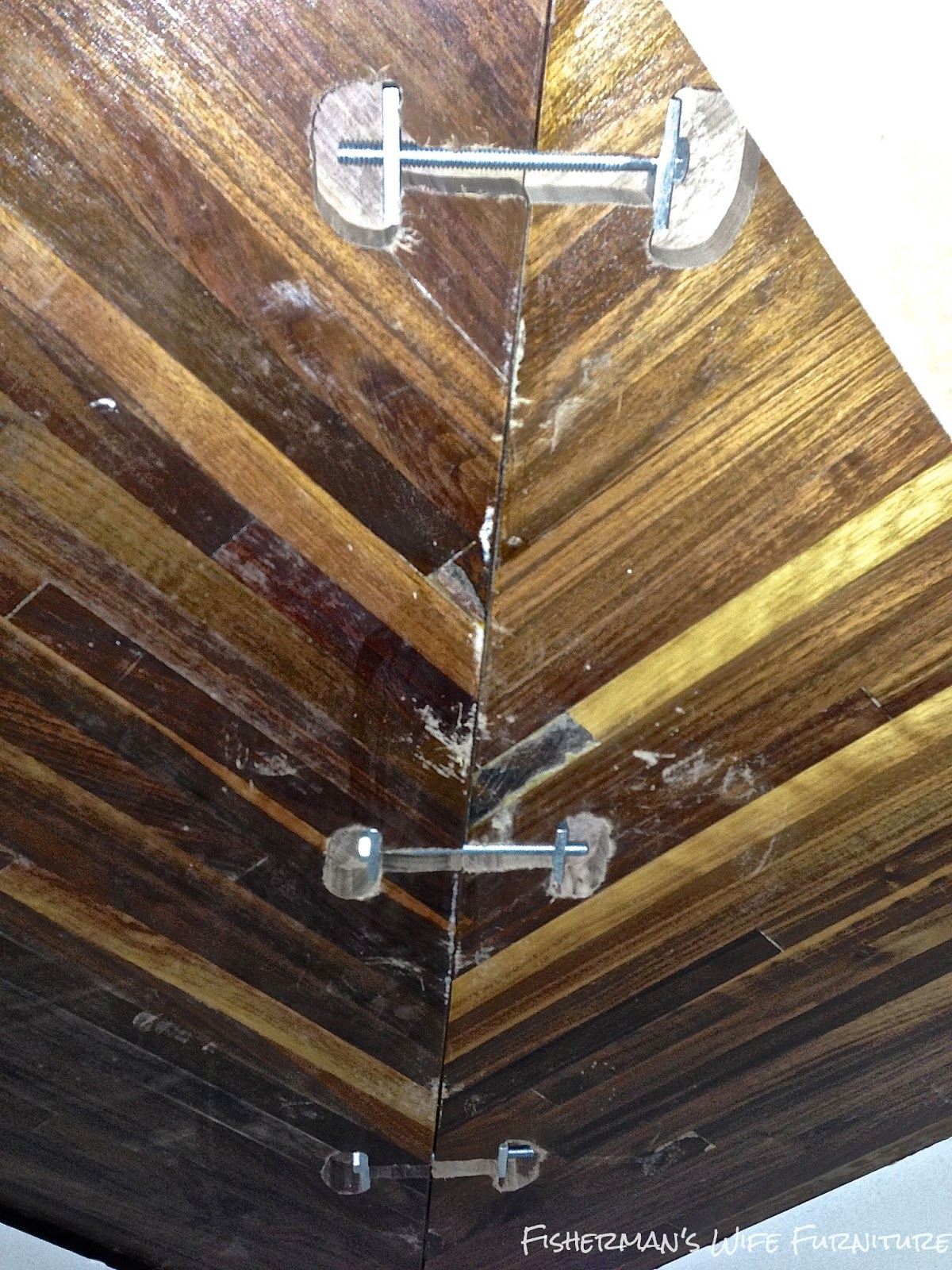 Countertop Fasteners : butcherblock countertops installed with wood fasteners, Fishermans ...