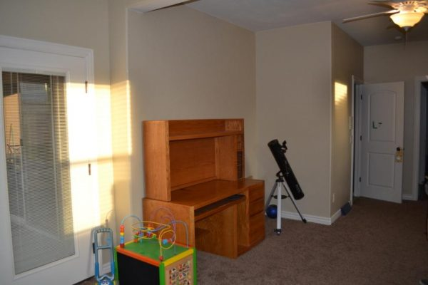 corner before we built the indoor tree house, I Am Hardware featured on Remodelaholic