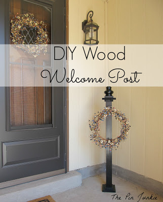 Amazing diy wele post The Pin Junkie featured on Remodelaholic