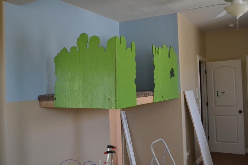 Classroom Decor Diy ~ Remodelaholic build an indoor tree house with slide and