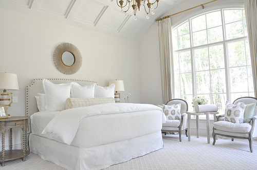 simple gorgeous white bedroom, Hibner Family