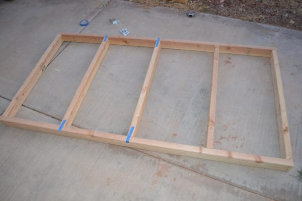 tips for building a sturdy loft platform for a playhouse, I Am Hardware featured on Remodelaholic
