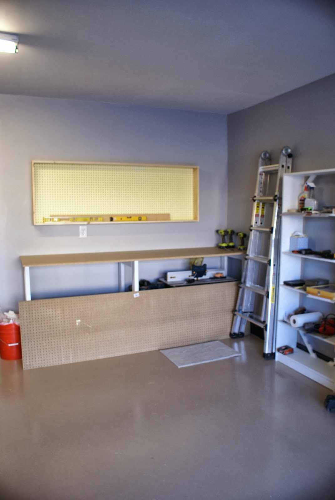 Build An Organized Pegboard Tool Cabinet And Simple
