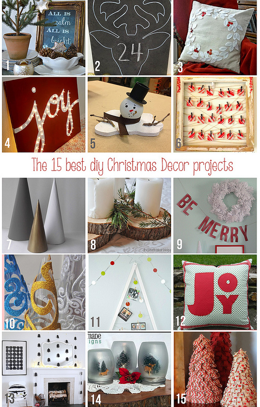 12-20 best diy Christmas decorations, Home Coming