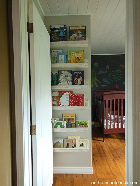 12-6 picture book shelves, Our Home Notebook