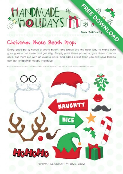 Remodelaholic Christmas Photo Booth Ideas Day 12