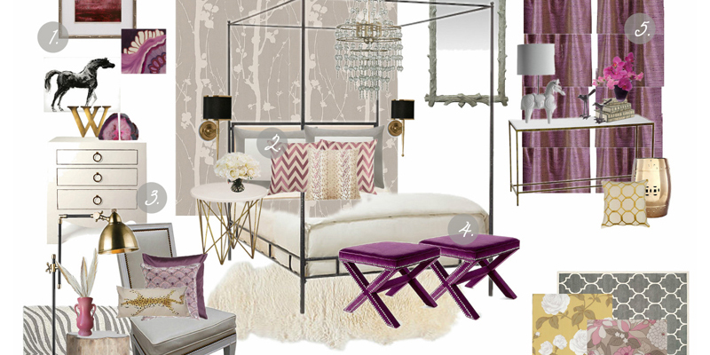 6 Tips For Decorating With Radiant Orchid
