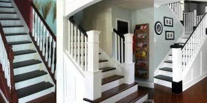 Stairway Makeovers on Remodelaholic