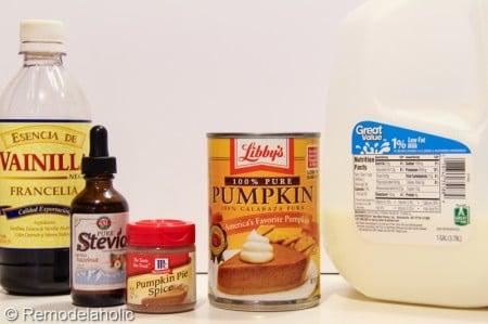 Sugar Free Pumpkin Steamers Recipe