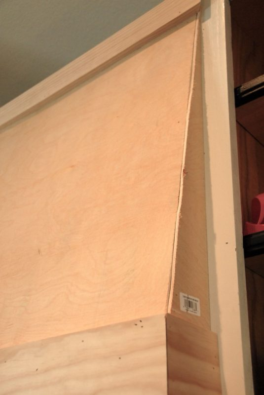 angled custom range hood how-to, The Rozy Home featured on Remodelaholic