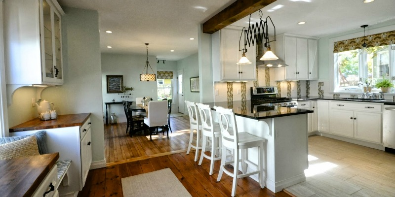 Remodelaholic | Creating an Open Kitchen and Dining Room