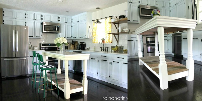1960's Ranch Kitchen Renovation With Custom Island