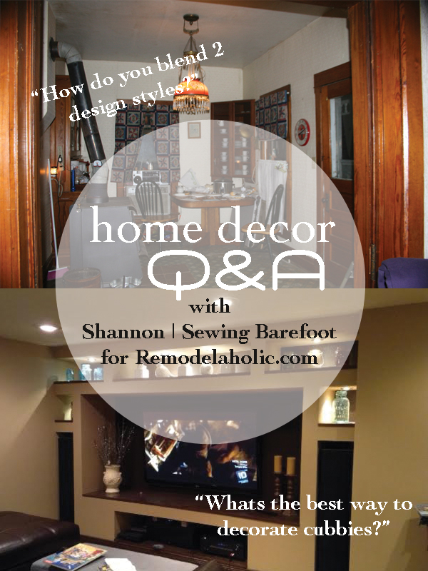 Remodelaholic Home Decor Q A Blending Styles And