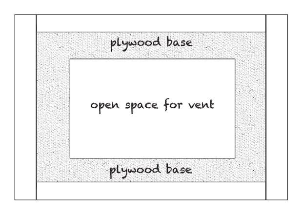 remodelaholic how to diy a custom range hood for under 50. Black Bedroom Furniture Sets. Home Design Ideas