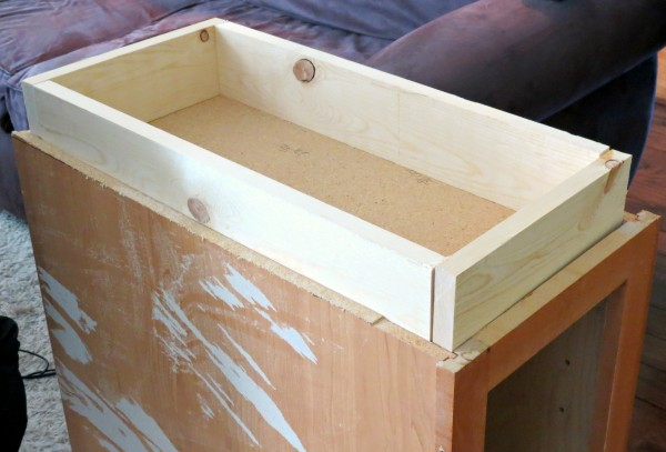 replace and rebuild cabinet kickspace, Home Is Where My Heart Is featured on Remodelaholic