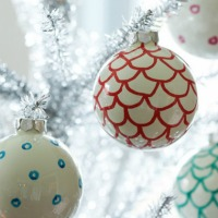 scallop ornaments
