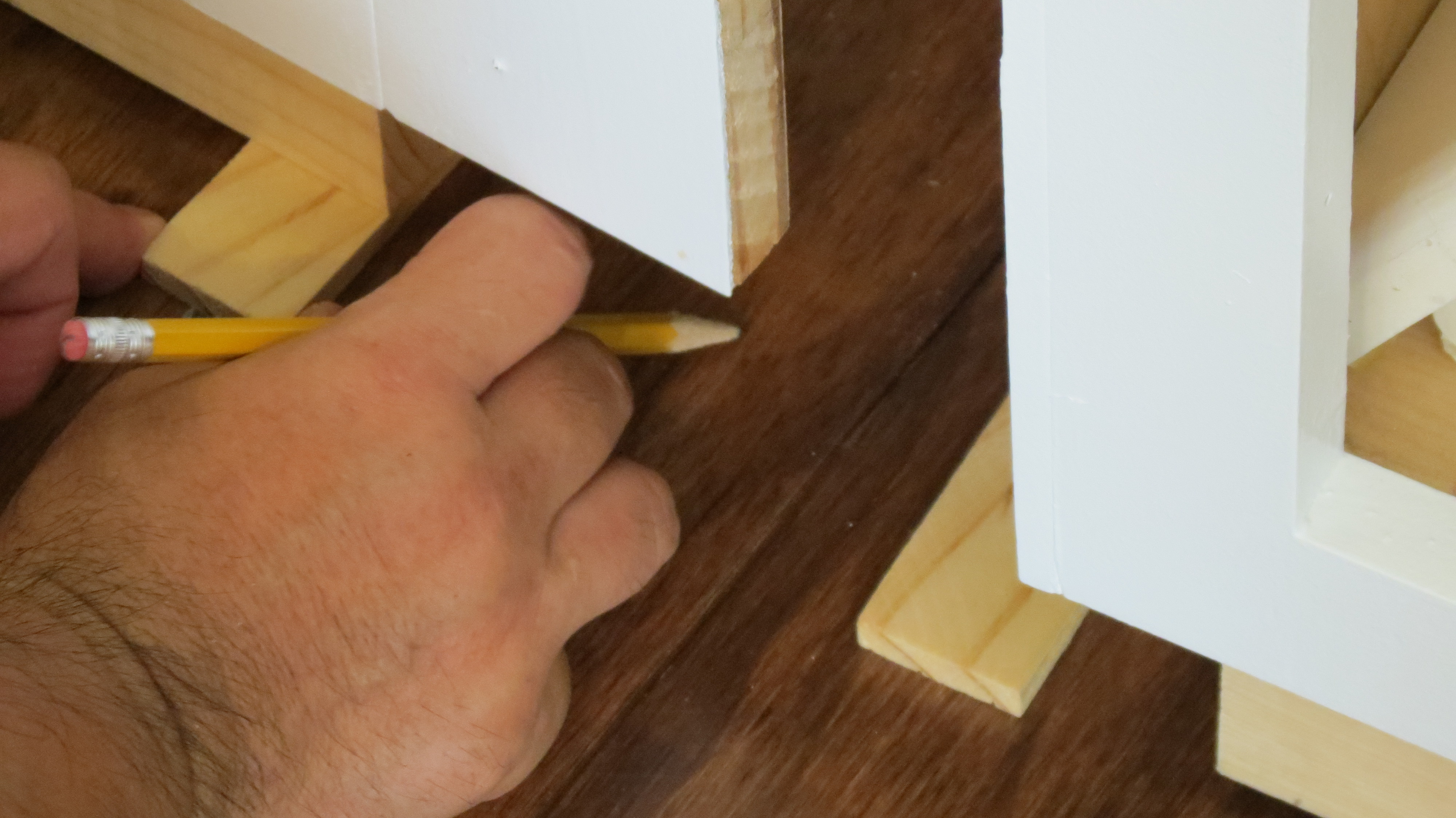 ... Use Shims To Level Built In Desk And Cabinets, Home Is Where My Heart
