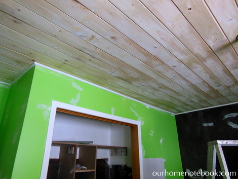 01-03 kids room redo with planked ceiling, Our Home Notebook
