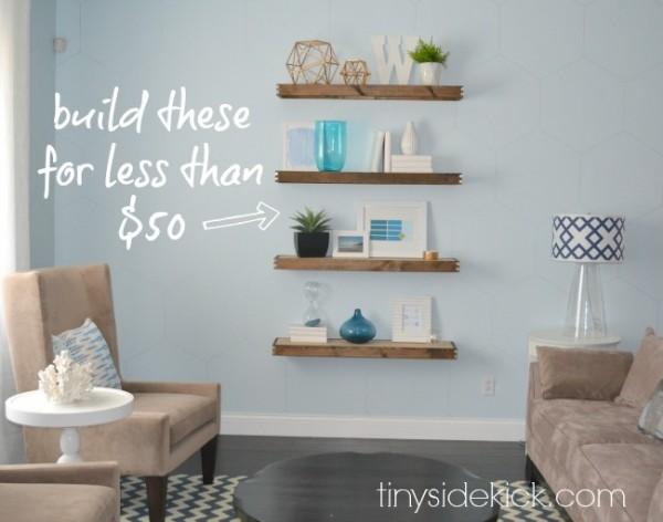 01-17 floating shelves, Tiny Sidekick