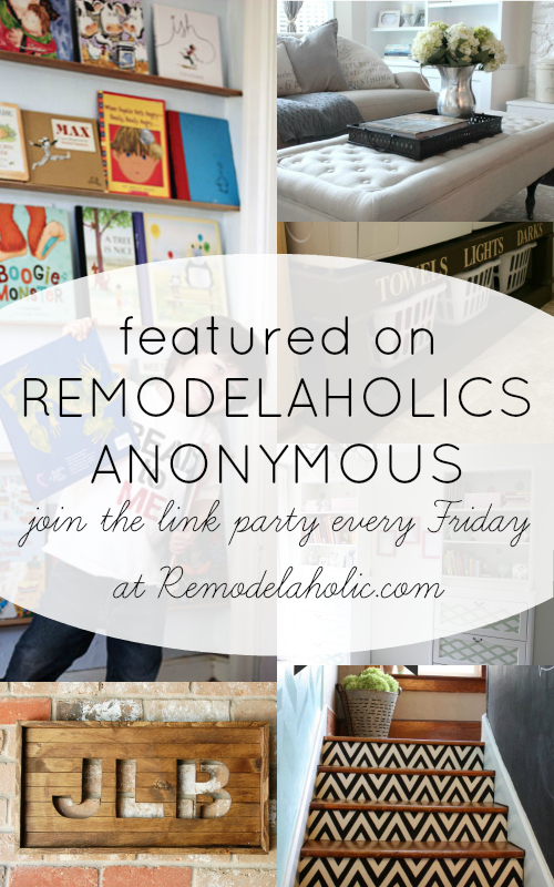 Remodelaholics Anonymous Link Party Features   Remodelaholic.com #remodelaholicsanon #remodelaholic #linkparty