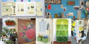 15 Creative Uses for Pegboard on Remodelaholic