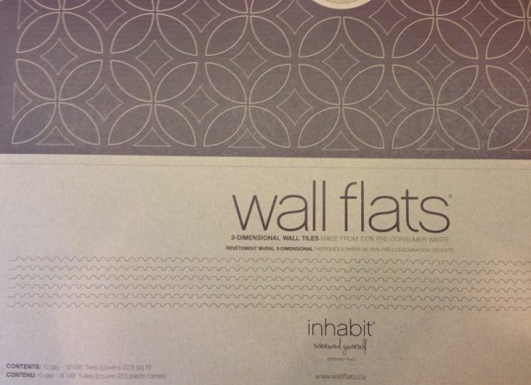 3D wall tiles for feature wall, Mesmerizing Moments featured on Remodelaholic