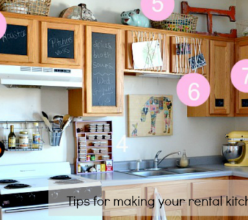 How to Bring Personality to Your Rental Kitchen