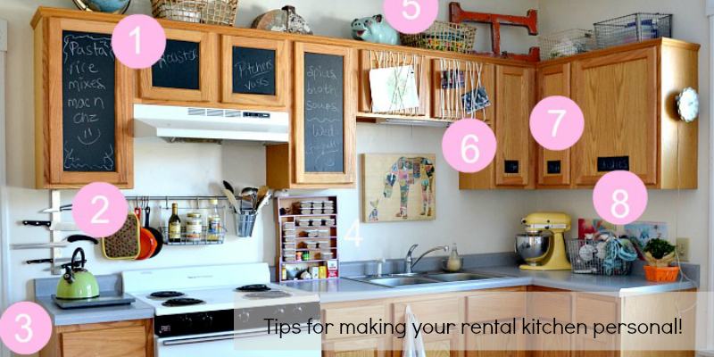 Remodelaholic   How to Bring Personality to Your Rental Kitchen on photography kitchen ideas, townhouse kitchen ideas, business kitchen ideas, condominium kitchen ideas, fixer upper kitchen ideas, house kitchen ideas, mobile kitchen ideas, building kitchen ideas, rental bedroom, church kitchen ideas, lakefront kitchen ideas, rental furniture, lake home kitchen ideas, paint kitchen ideas, furniture kitchen ideas, waterfront kitchen ideas, travel kitchen ideas, rehab kitchen ideas, storage kitchen ideas, design kitchen ideas,