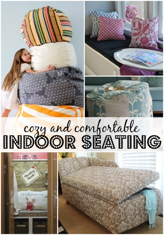 Remodelaholic 10 Cozy And Comfortable Indoor Seating