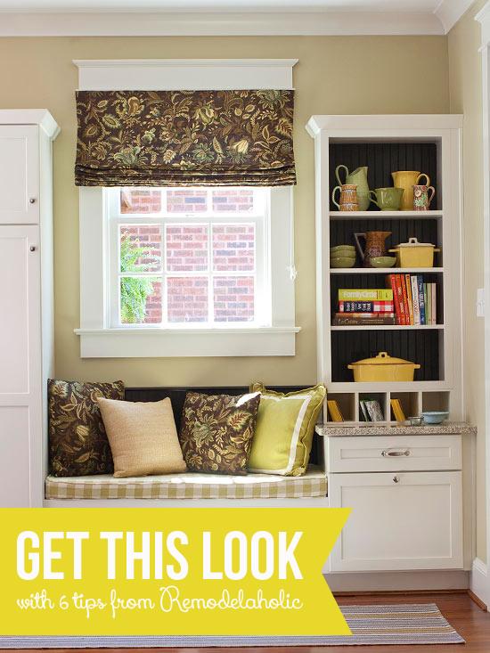 Get This Look - Built-in Drop Zone via Remodelaholic.com #getthislook