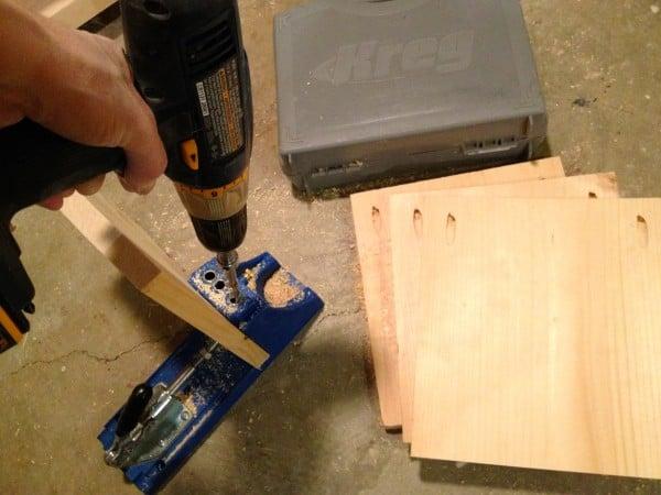 media shelf drawer construction