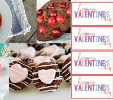 25 Sweet Treats for Valentine's Day + Free Printable Treat Tag
