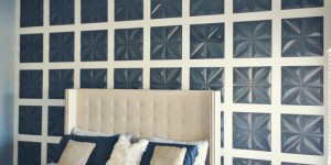 feature board and batten feature wall using 3D wall panels, Mesmerizing Moments featured on Remodelaholic