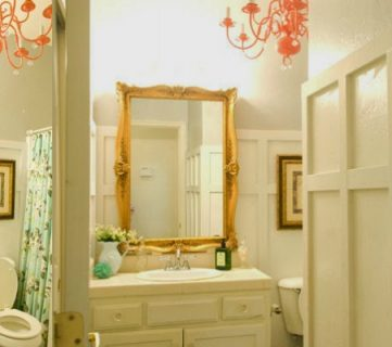 Chic Budget Bathroom Makeover for Under $100