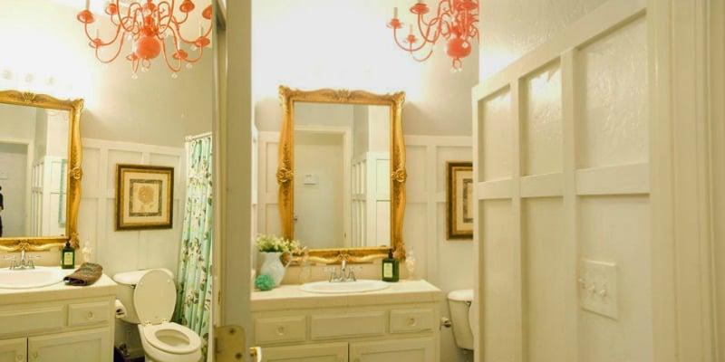 Chic Budget Bathroom Makeover for Under $100