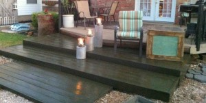 feature diy wooden pallet deck ready for summer, The Second Wind of Texas featured on Remodelaholic