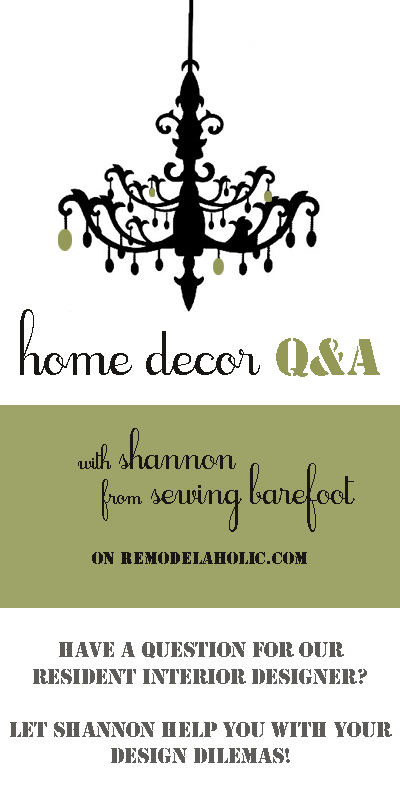 Home Decor Q&A with Shannon @ShannonBarefoot - How To Brighten A Dark Space, Put Together a Southwest Kitchen, and Choose Paint Colors| #remodelaholic