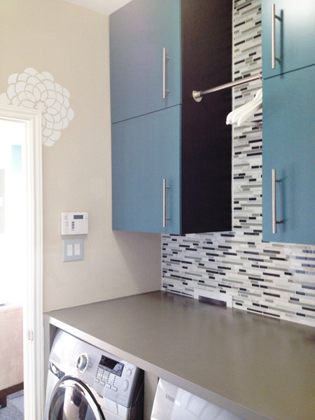 laundry room makeover, Mesmerizing Moments featured on Remodelaholic