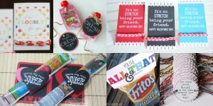 loom bracelet and candy-free valentines ideas