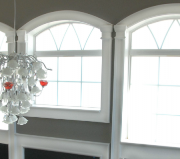 How to Install Molding and Trim on Arched Windows