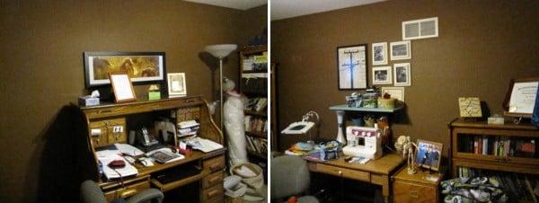 "dark office ""before"" on remodelaholic.com"